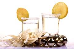 Tequilaschoten stock fotografie