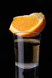 Tequilaschuß Lizenzfreies Stockfoto