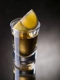 Tequilaschuß Lizenzfreie Stockbilder