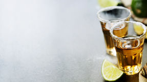 Tequilaskott arkivfoton