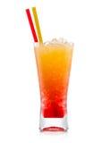 Tequilasonnenaufgang Cocktail stockfotos