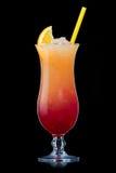 Tequilasonnenaufgang Cocktail lizenzfreie stockfotos