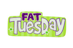 Terça-feira gorda Fotografia de Stock