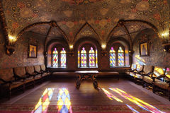 Ter pałac, luksusowy wnętrze Fotografia Royalty Free