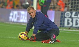 TER STEGEN  FC BARCELONE Stock Photography