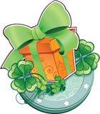 Teraźniejszość dla st.Patricks dnia. royalty ilustracja