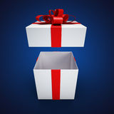 Teraźniejszy pudełko Obraz Royalty Free
