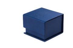 Teraźniejszy pudełko dla jewerly na białym tle Obraz Stock