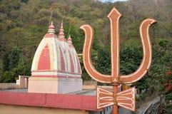 Tera Manzil Shiva Temple in Rishikesh, India Stock Photography
