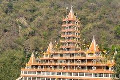 Tera Manzil Shiva Temple in Rishikesh, India Royalty Free Stock Photos