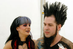 Tera Wray och Wayne Static Royaltyfri Fotografi