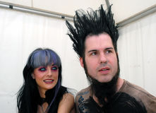 Tera Wray and Wayne Static Stock Image