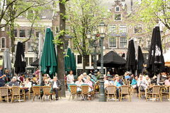 Teracce in Amsterdam Royalty Free Stock Photo