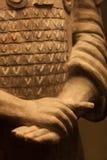 Terakotowe wojownik ręki, Chiny Obraz Stock