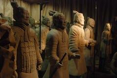 terakotowi chińskich wojowników. Fotografia Royalty Free
