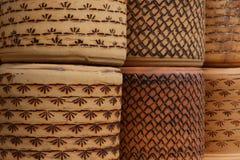 Terakotowi Gliniani Ceramiczni garnki zdjęcia stock