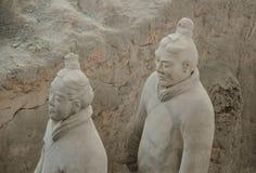 Terakotowi wojownicy od Xian Fotografia Stock