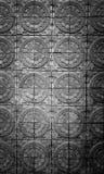 Terakotowy ściana z cegieł tekstury tło Zdjęcia Royalty Free