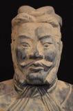 Terakotowy wojownik od Xian Obraz Stock