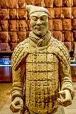 Terakotowy wojownika wojsko cesarza Qin Shi Huang Di Fotografia Stock