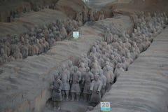 Terakotowy wojsko Fotografia Royalty Free
