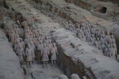 Terakotowy wojsko Zdjęcie Royalty Free
