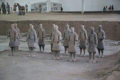 Terakotowy wojsko Zdjęcia Royalty Free