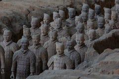 Terakotowy wojsko, Chiny Zdjęcia Royalty Free
