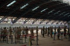 Terakotowy wojsko, Chiny Obraz Royalty Free