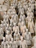 Terakotowy wojsko w Xian, Chiny zdjęcie stock