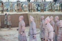Terakotowy wojsko, xi., porcelana Obraz Stock