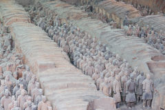 Terakotowy wojsko, xi., porcelana Fotografia Stock