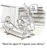 Terapeuta royalty ilustracja