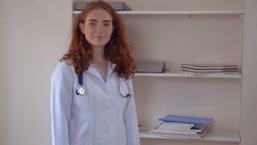 Terapeuta profesional en clínica metrajes