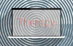 terapia ilustração do vetor