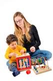 Terapia creativa de los niños Fotos de archivo libres de regalías