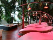 Terapia da luz infra-vermelha imagens de stock royalty free