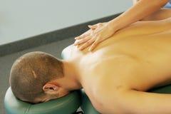 Terapia da massagem Fotos de Stock Royalty Free