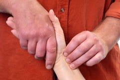 Terapia da massagem Imagem de Stock
