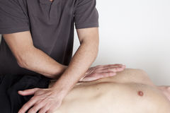 Terapia de Myofascial Imagens de Stock