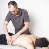 Terapia de Myofascial Foto de Stock