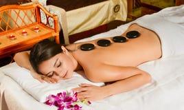 Terapia de pedra Fotos de Stock Royalty Free