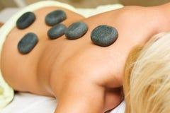 Terapia de pedra Imagem de Stock