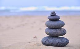 Terapia de pedra quente. Fotos de Stock
