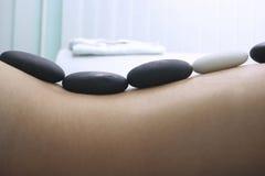 Terapia de piedra Imagen de archivo libre de regalías