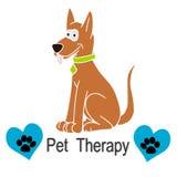 Terapia del animal doméstico Imagen de archivo libre de regalías