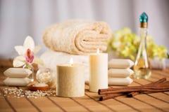 Terapia del balneario y del aroma fotografía de archivo