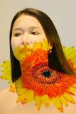 Terapia del fiore   fotografia stock libera da diritti