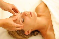 Terapia del masaje Imagenes de archivo