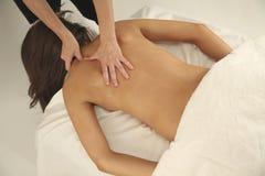 Terapia del masaje Fotografía de archivo